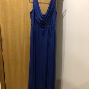 David's Bridal Dresses - David's Bridal Cobalt Blue Dress